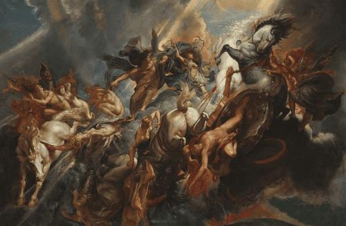 Phanteon'un düşüşü Peter Reubens'in en bilinen tablolarından biridir.
