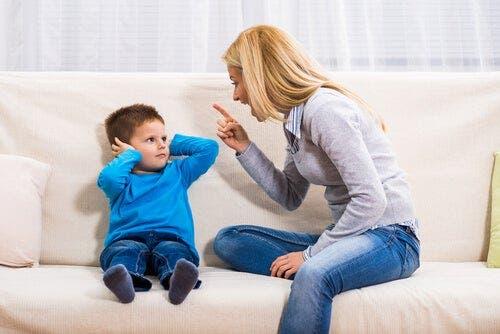 davranış değiştirme ve azarlama