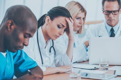 Sağlık Çalışanlarında Tükenmişlik Sendromu
