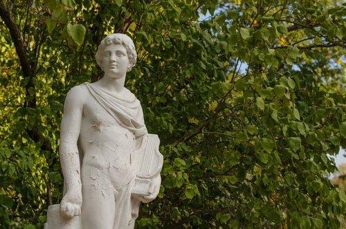Orpheus ve Eurydike: Orpheus heykeli