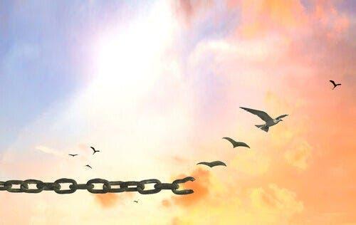 İfade özgürlüğü kavramını temsil eden soyut bir resim.