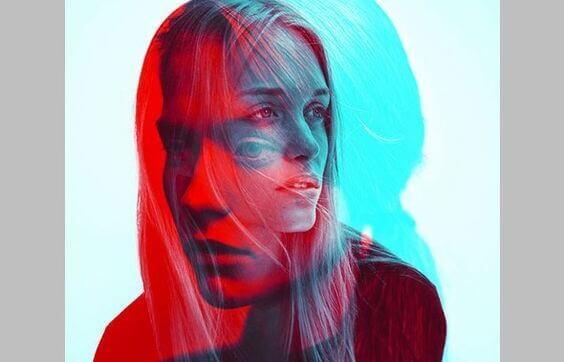 Bir kadın yüzü