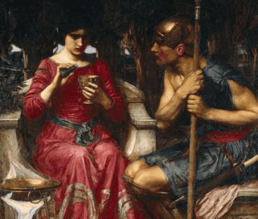 Medea Efsanesi, Aşık Bir Büyücü