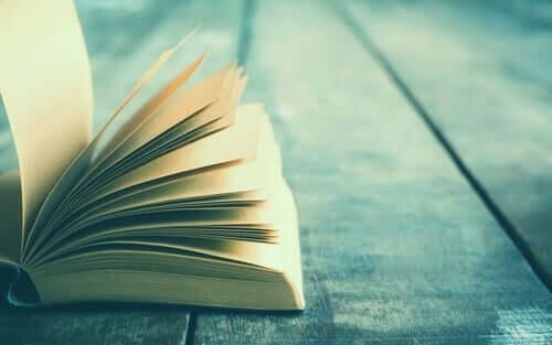 yerde açılmış kitap