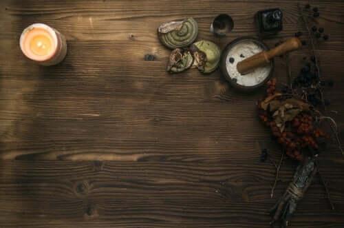 Bir büyücünün masası