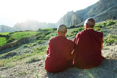 dağda tibet rahipleri