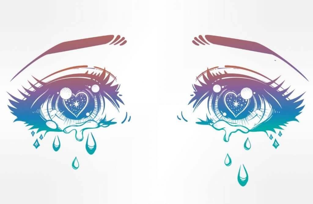 Yaşlı gözler