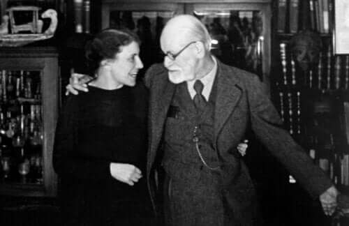 Anna Freud ve Sigmund Freud