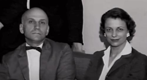 William Masters ve Virginia Johnson'ın bir fotoğrafı.