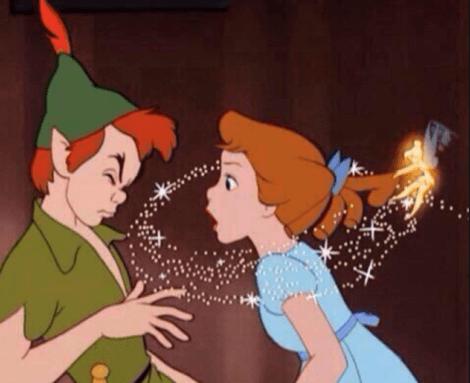 Romantik aşklar için Peter Pan pek de güzel bir örnek sayılmaz