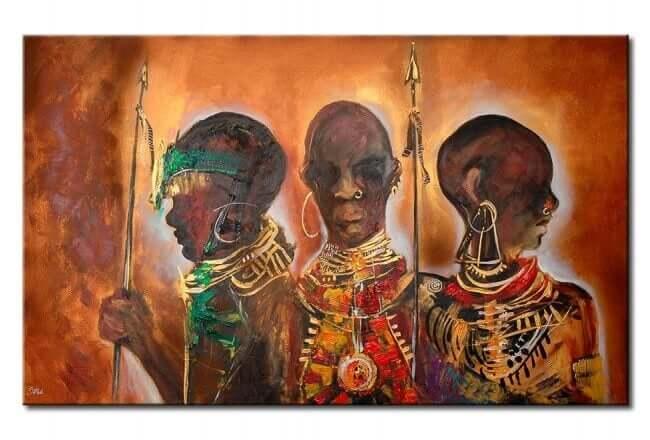 Afrikalı savaşçılar