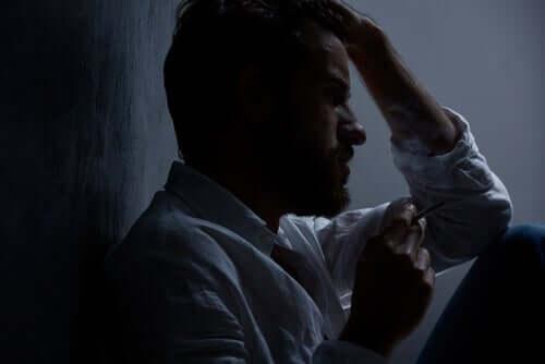 depresyonda olan adam