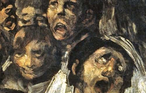 """Goya'nın """"Kara Resimler""""indeki Psikoloji"""