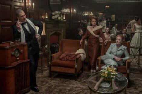 hollywood dizisinden bir sahne