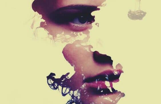parçalı yüz