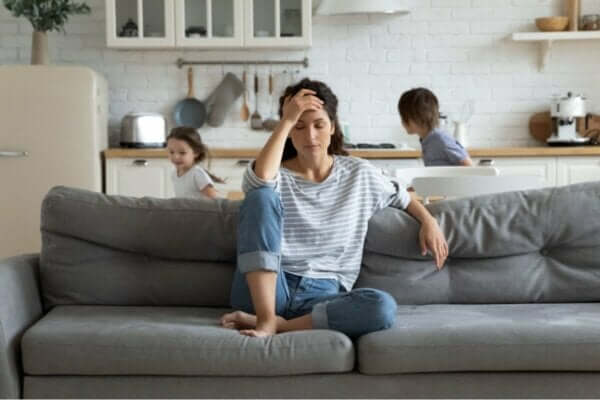 Çocuklara karşı çaresiz kalan anneler.