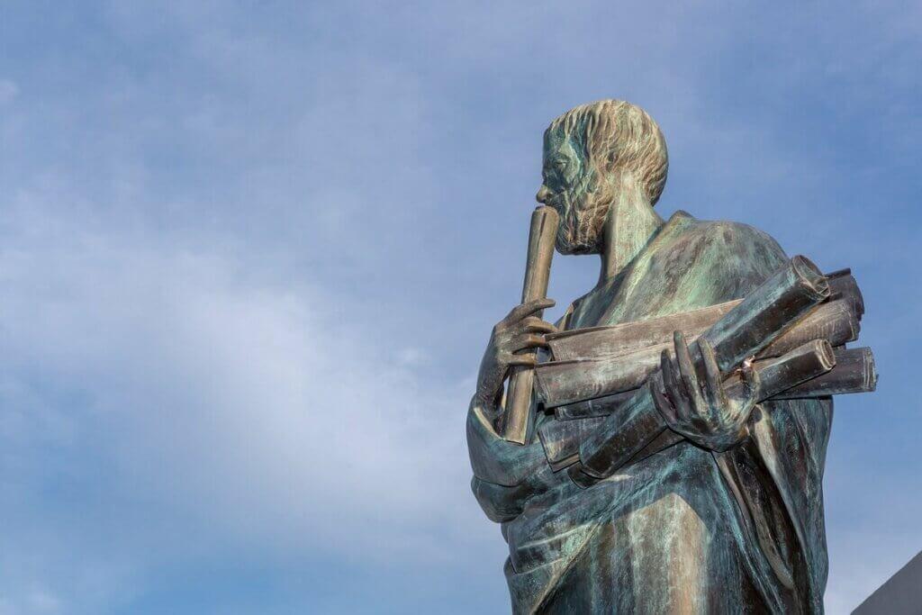 Aristo heykeli
