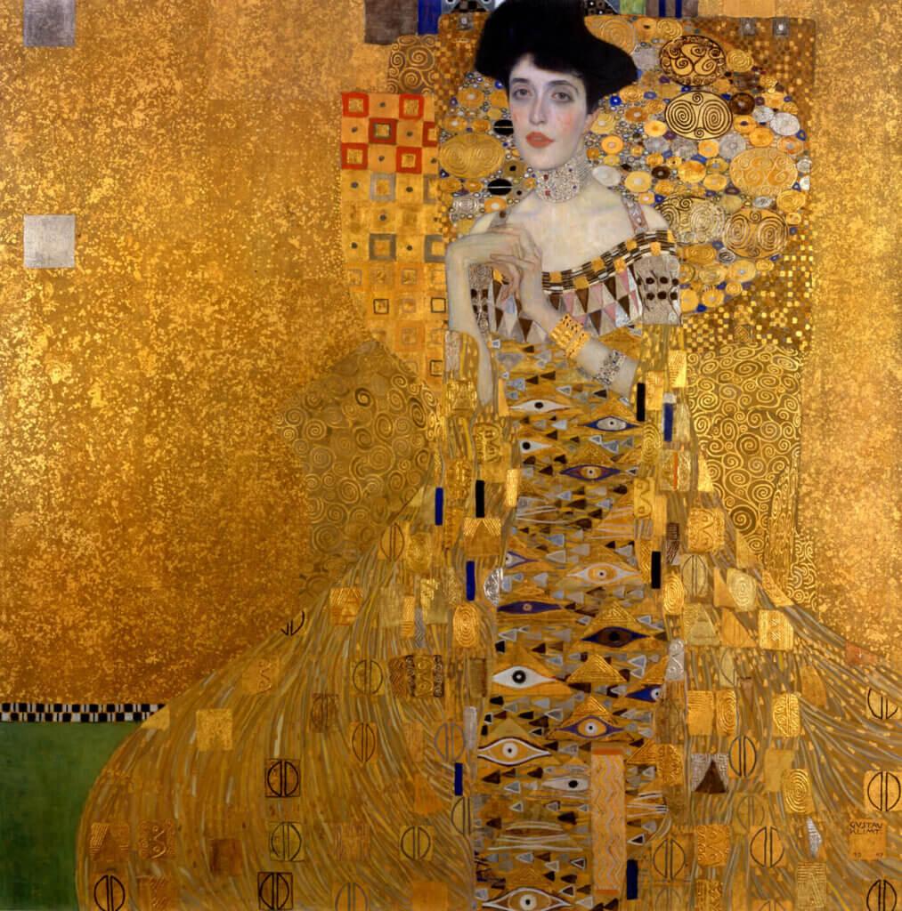 Adele Bloch Bauer tablosu Gustav Klimt