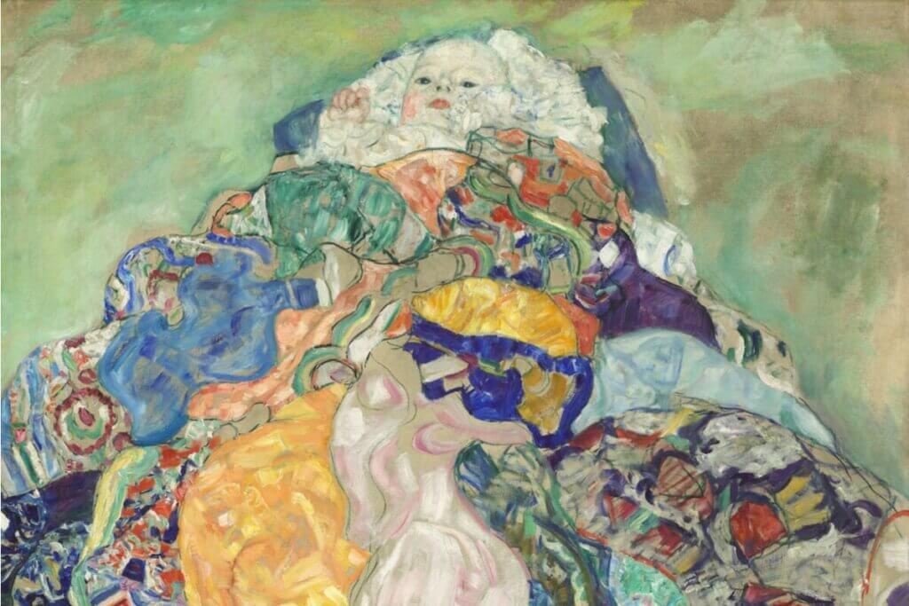 Gustav Klimt bebek tablosu