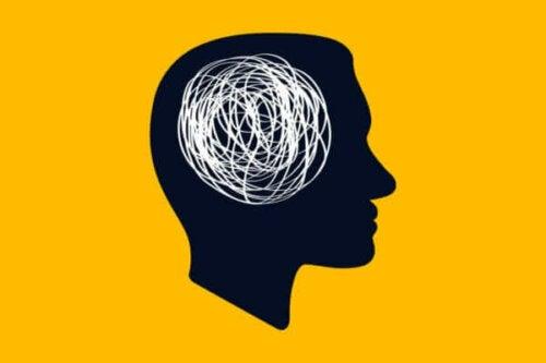 Kafa karışıklığını temsil eden bir görsel.