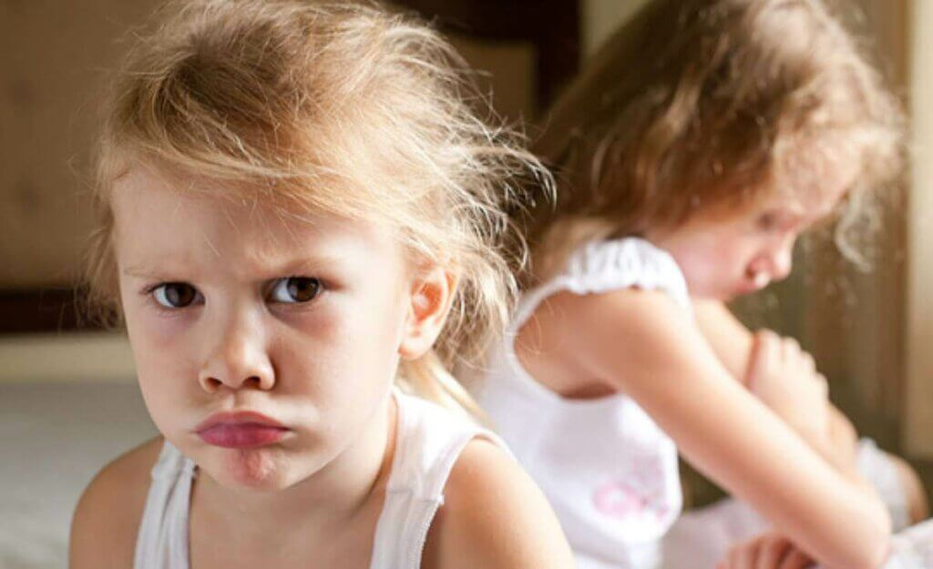 kızgın bir çocuk
