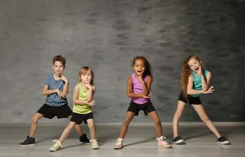 Çocuk dansı çeşitleri.
