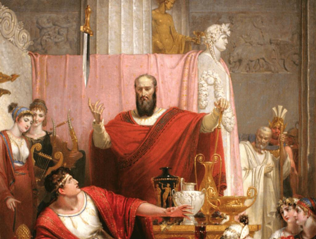 Demokles Kılıcının Efsanesi