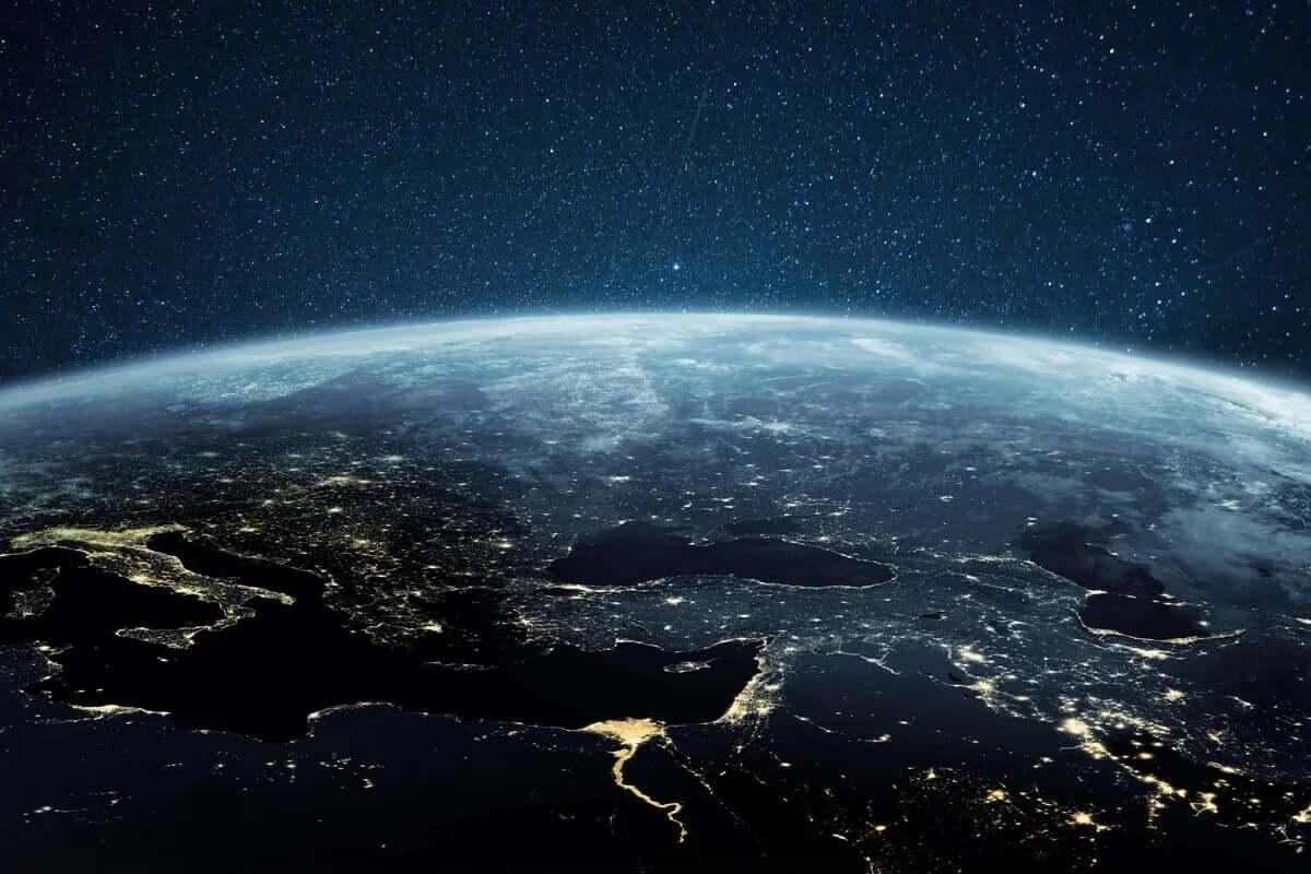 uzaydan görünen Türkiye