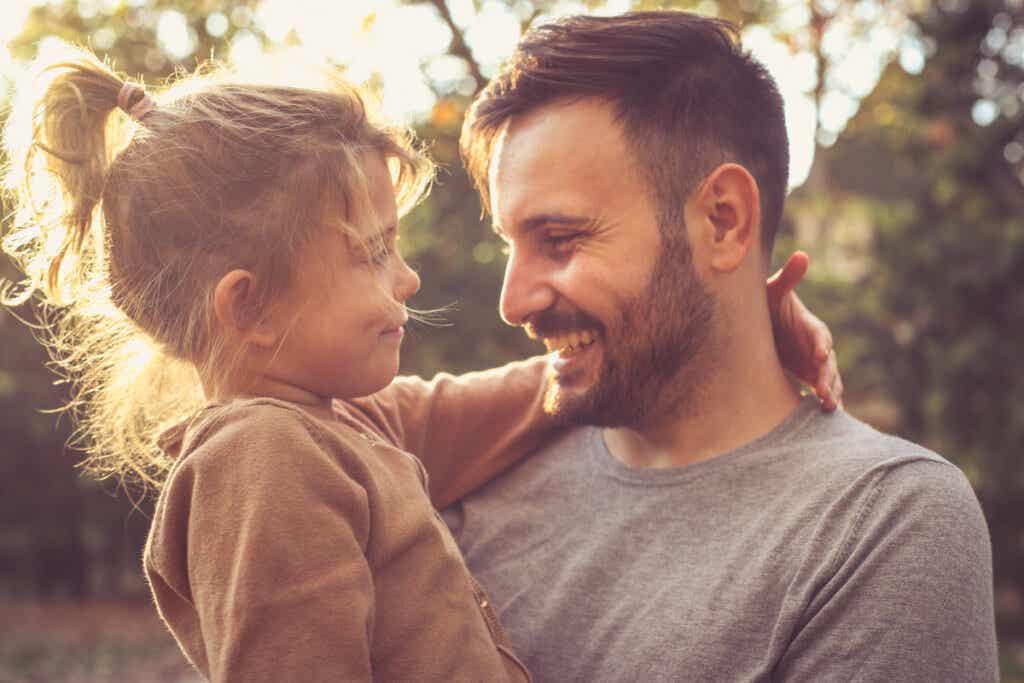 mutlu baba kız
