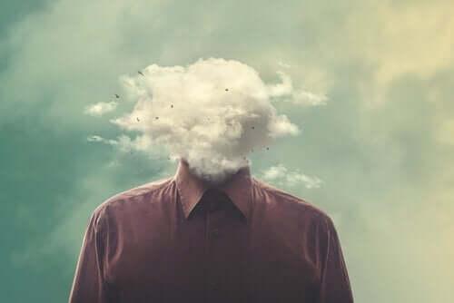 bulut kafalı adam