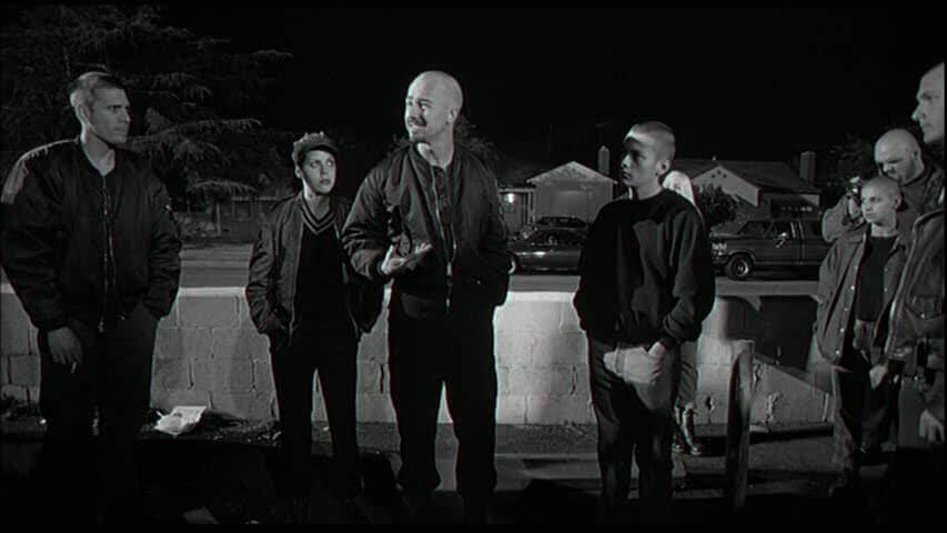 geçmişin gölgesinde filminden bir sahne
