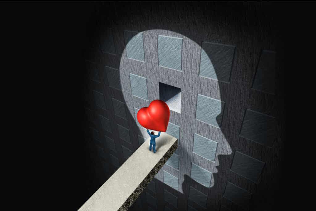 kafadaki boş kutuya kalp koymak