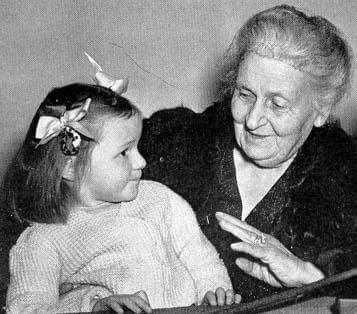 montessori ve küçük çocuk